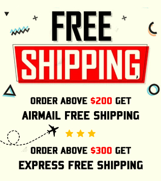 Free Shipping Above $200